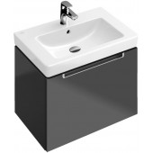 VILLEROY & BOCH SUBWAY 2.0 umyvadlo 650x470x150mm, s otvorem, s přepadem, Bílá Alpin CeramicPlus