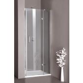 CONCEPT 300 sprchové dveře 800x1900mm křídlové, levé, stříbrná lesklá/čiré AP