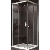 HÜPPE AURA ELEGANCE sprchová zástěna 900x1900mm, čtverec, stříbrná lesk/čirá AP