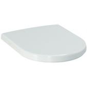 LAUFEN PRO sedátko 380x450mm s poklopem, odnímatelné, zpomalovací sklápěcí systém, bílá