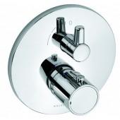 KLUDI ZENTA baterie sprchová 170mm, podomítková, termostatická, vrchní díl, chrom