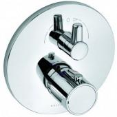 KLUDI O-CEAN/ZENTA vanová/sprchová baterie 170mm, podomítková, termostatická, vrchní díl, chrom