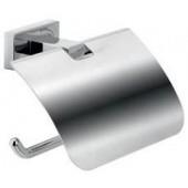 INDA LEA držák toaletního papíru 150x60x100mm, s krytem, chrom