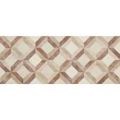 MARAZZI PAINT dekor 20x50cm, avorio/sabbia/rosso