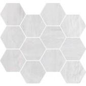 IMOLA CREATIVE CONCRETE mozaika 25x30cm white