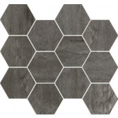 IMOLA CREATIVE CONCRETE mozaika 25x30cm, natural, mat, dark grey
