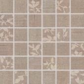 RAKO TEXTILE mozaika 5x5cm hnědá WDM05103