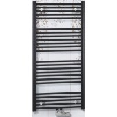 CONCEPT 100 KTKM radiátor koupelnový 750x740mm, rovný se středovým připojením, bílá