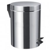 JIKA GENERIC odpadkový koš 205x205mm, objem 5 l, leštěná nerez