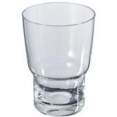 KEUCO CITY.2 sklenička 100mm na zubní kartáčky, křišťálové sklo