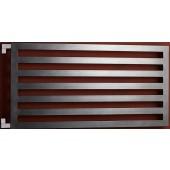 P.M.H. DARIUS DA1A koupelnový radiátor 600x1200mm, 512W, metalická antracit