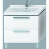 JIKA CUBITO skříňka pod umyvadlo 840x460x670mm se 2 zásuvkami bílá/bílý lesklý lak 4.5012.0.172.500.1
