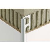 SCHLÜTER SYSTEMS RONDEC-ACG ukončovací profil 10mm, 2500mm, elox hliník-lesklý chrom