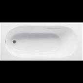 JIKA LYRA vana klasická 1700x700x415mm akrylátová, včetně podpěr, bílá