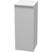 JIKA PURE střední skříňka 350x350x884mm 1 dveře levé, 2 police, bílá 4.5593.1.174.500.1