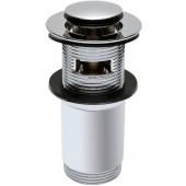 KOLO TWINS uzavíratelný odtokový ventil Click-Clack, chrom