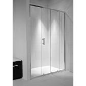 JIKA CUBITO PURE sprchové dveře 1000x1950mm dvoudílné, transparentní