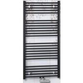 CONCEPT 100 KTKM radiátor koupelnový 600x740mm, rovný se středovým připojením, bílá