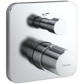 CONCEPT 200 NEW vanová baterie podomítková termostatická nadomítková část chrom A5915AA