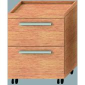JIKA CUBITO kontejner 640x470x740mm 2 zásuvky, fino/fino 4.5211.1.172.451.1