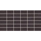 RAKO FASHION mozaika 5x10cm černá DDMBG624
