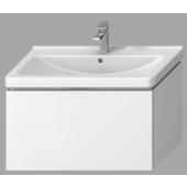 JIKA CUBITO-N skříňka pod umyvadlo 840x467x480mm, bílý lesklý lak
