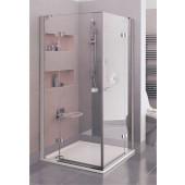 RAVAK FINELINE PRFSRV4 EXCLUSIVE sprchový kout 900x900x1900mm dvojdílný s pevnými stěnami, chrom/transparent