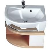 Nábytek skříňka pod umyvadlo Ravak SDU Rosa L 560x400x240 mm bříza/bílá lesklá