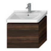 JIKA CUBITO-N skříňka pod umyvadlo 590x427x480mm, tmavá borovice