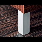 JIKA CUBITO nožka k nábytku 40x40x130-145mm, nastavitelná, ALU 4.9186.1.172.007.1
