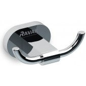 RAVAK CHROME CR 100.00 dvojháček 90x62mm chrom X07P186