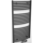 CONCEPT 200 TUBE EXTRA radiátor koupelnový 444W designový, středové připojení, chrom