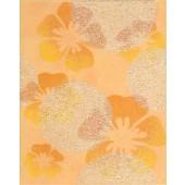 RAKO CANDY dekor 20x25cm oranžová s květy WITGW656