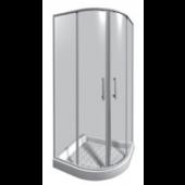 JIKA LYRA PLUS sprchový kout 900x900x1900mm čtvrtkruh, transparentní