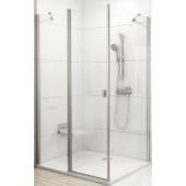 RAVAK CHROME CPS 90 pevná stěna 880-900x1950mm jednodílné, bílá/transparent 9QV70100Z1