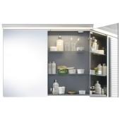 Nábytek zrcadlová skříňka Duravit Darling New 800x800 mm pine terra / bílá