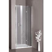 Zástěna sprchová dveře - sklo Concept 300 do niky, upevnění vlevo 900x1900mm stříbrná lesklá/čiré AP