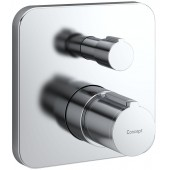 CONCEPT 200 NEW sprchová baterie 157x157mm podomítková, termostatická, vrchní sada, chrom