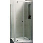 CONCEPT 100 NEW sprchové dveře 800x1900mm lítací, stříbrná matná/čiré sklo AP, PTA20903.087.322