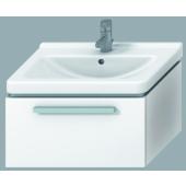 JIKA CUBITO skříňka pod umyvadlo 640x460x350mm se zásuvkou bílá/bílý lesklý lak 4.5011.4.172.500.1