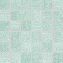 RAKO TRINITY mozaika 30x30cm, lepená na síťce, tyrkysová