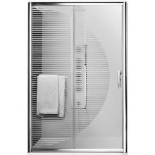 ROLTECHNIK PROXIMA LINE PXD2N/1200 sprchové dveře 1200x2000mm posuvné pro instalaci do niky, rámové, brillant/potisk