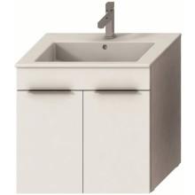 JIKA CUBE skříňka s umyvadlem 650x430mm, bílá/bílá