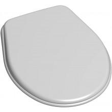 SAM HOLDING P-3557 sedátko záchodové 380x460mm, pro OLYMP, DINO, ZETA, ECCO, FONDO, ABS, bílá
