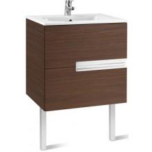 Nábytek skříňka s umyvadlem Roca Unik Victori-N 60 cm dub