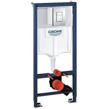GROHE RAPID SL předstěnový modul 500x1130mm pro WC, s krycí deskou, chrom