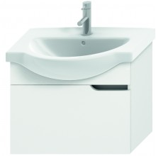 JIKA MIO umyvadlová skříňka pro nábytkové umyvadlo 630x340x505mm 1 zásuvka, bílá/bílá 4.3412.1.171.500.1