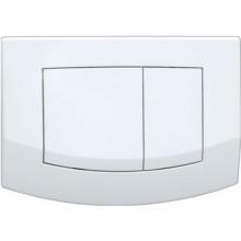 TECE AMBIA ovládací tlačítko 214x152mm, dvoumnožstevní splachování, bílá
