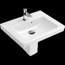 VILLEROY & BOCH SUBWAY 2.0 umývátko 450x370mm s přepadem, Bílá Alpin CeramicPlus 731545R1