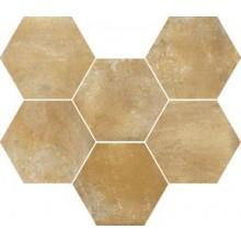 MARAZZI COTTI D'ITALIA dlažba 21x18,2cm, šestihran, beige
